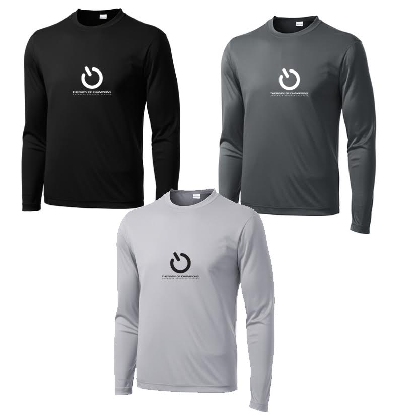 TOC Men's Dri Fit Long Sleeve Tee