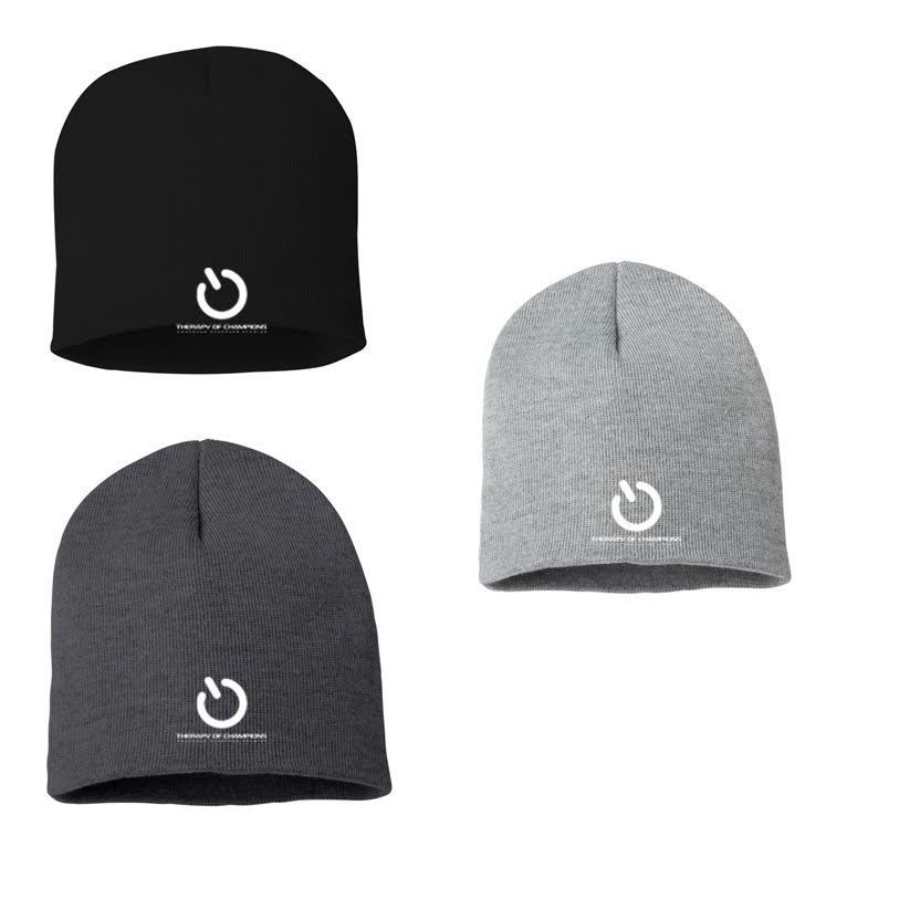 TOC Winter Beanie (white logo)