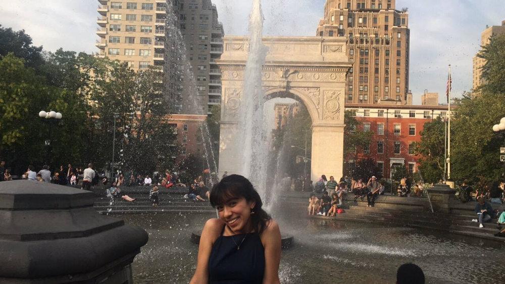 Ayling Zulema Dominguez at Washington Square Park