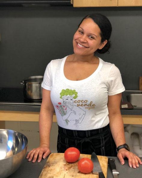 Cecilia of   Coco Verde Vegan