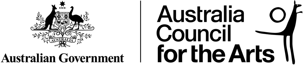 Major Sponsor - This project has been assisted by the Australian Government through the Australia Council, its arts funding and advisory body OR The (company name) is assisted by the Australian Government through the Australia Council, its arts funding and advisory body.