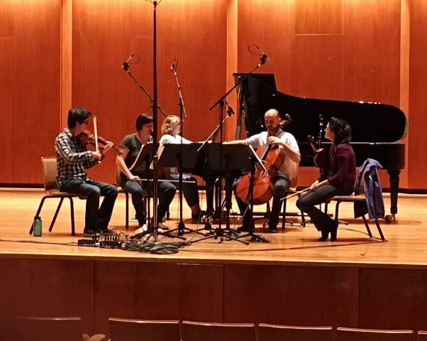 Having a blast recording the Jalbert and Stucky Quintets in Champaign Urbana with my wonderful friends, the Jupiter Quartet. Back in Sydney soon! . . . #classicalmusic #chambermusic #jupiterquartet