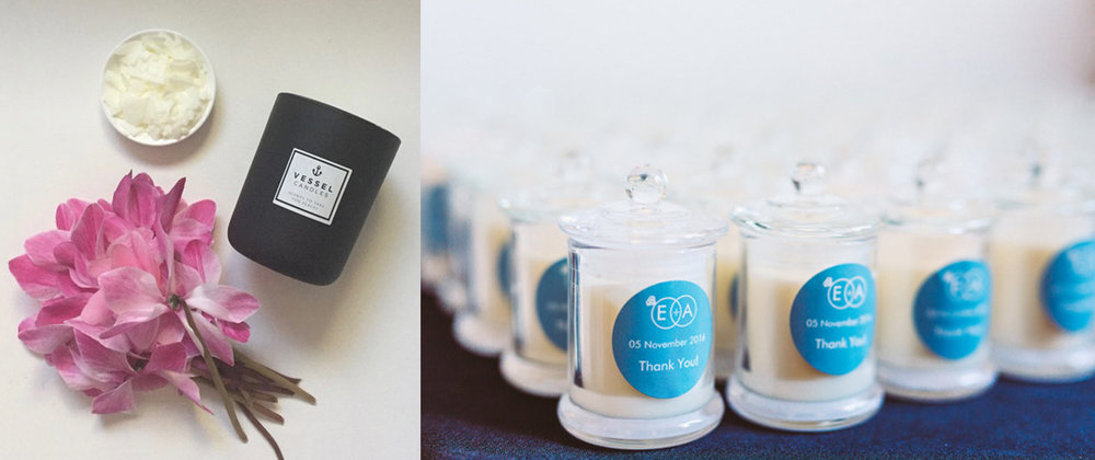 Take Home Gifts Vessel Candles