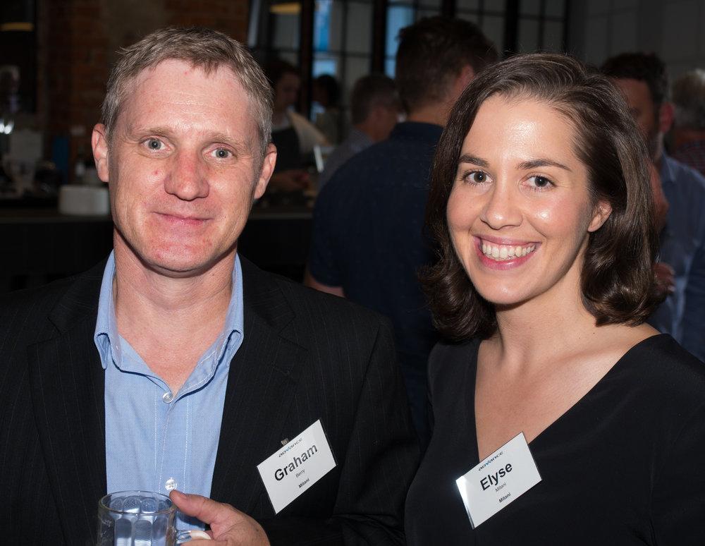 Graham Berry & Elyse Mitani (Mitani)