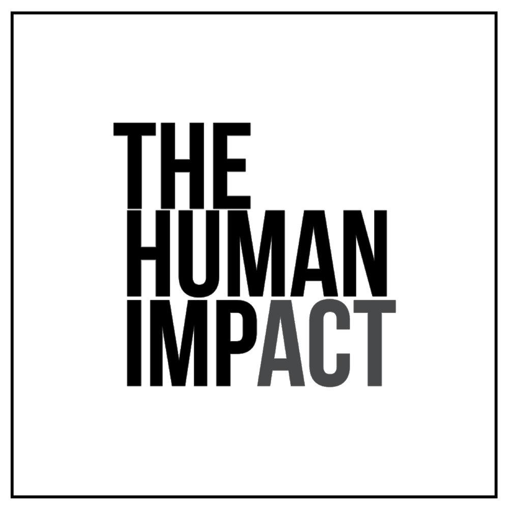 TheHumanImpact Logo B+W Square.jpg