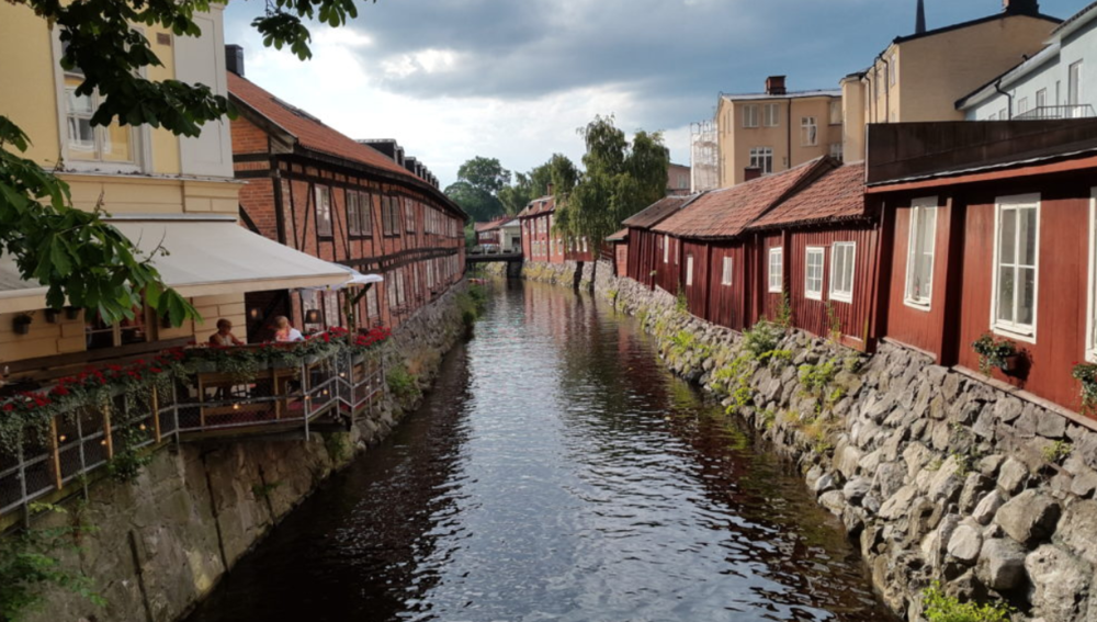 Vasteras, Sweden.  Picture provided by The Biveros Effect.