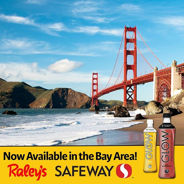 #BayArea it's your time to GLOW! #GrabAGLOW at @safeway or @raleys and #ShareTheGLOW