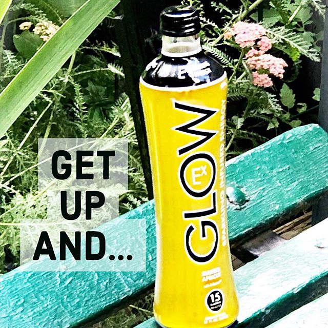 Get up and #Glow  Anywhere, any time. #DrinkGlow ** ** ** ** #hydrate #workhard #playhard #infused #beverage #CA #SoCal #Party #DayandNight #enjoy #energy #shine #summer #become #unite #create #workout #work #motivation #livethelifeyoulove