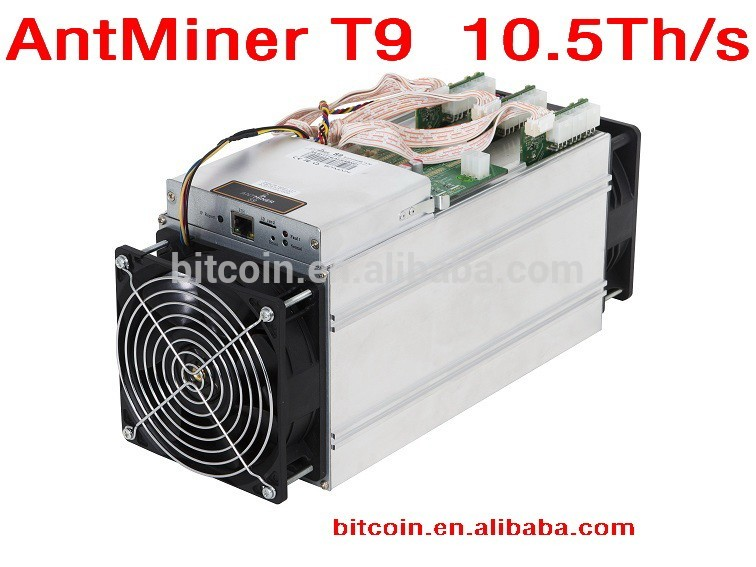 ANTMINER T9 10.5TH - ANOTHER VERY POWERFUL BITCOIN   ETHEREUM MINER