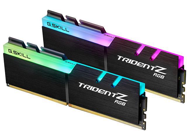 G.SKILL TridentZ RGB Series 16GB   (2 x 8GB) 288-Pin DDR4   SDRAM DDR4 3200 (PC4 25600)