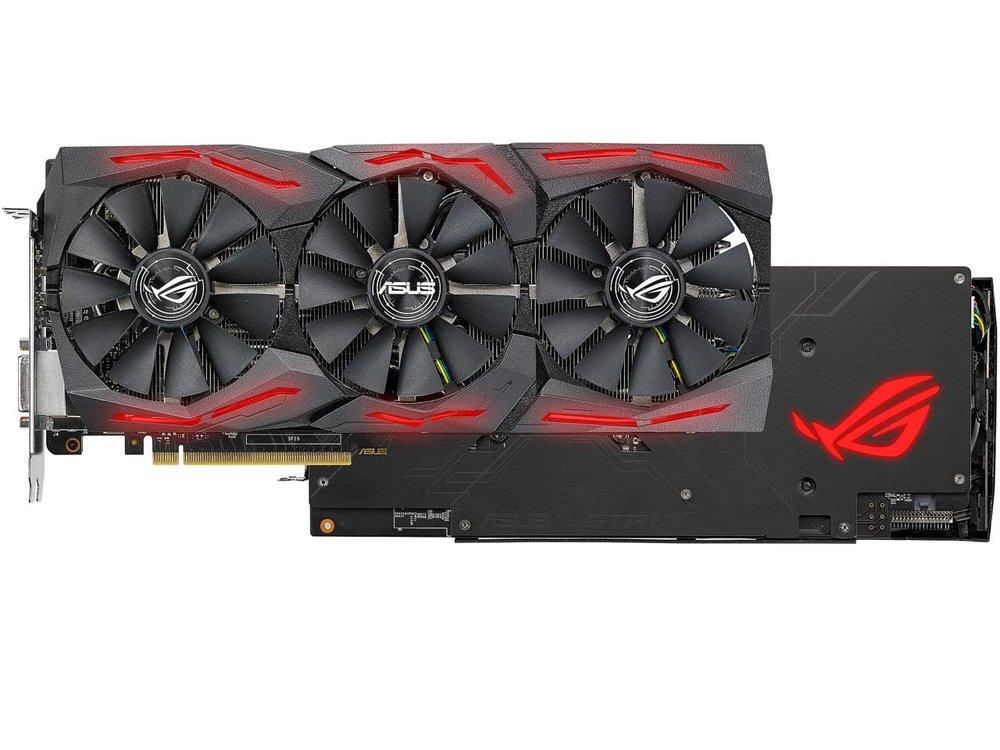 ASUS ROG Strix Radeon RX 580  -