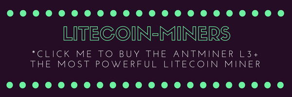 AS OF 12/12/2018 OVER 100 ANTMINERS L3+ HAVE BEEN SOLD! THIS IS A BIG HINT THAT LITECOIN WILL CONTINUE TO RALLY!