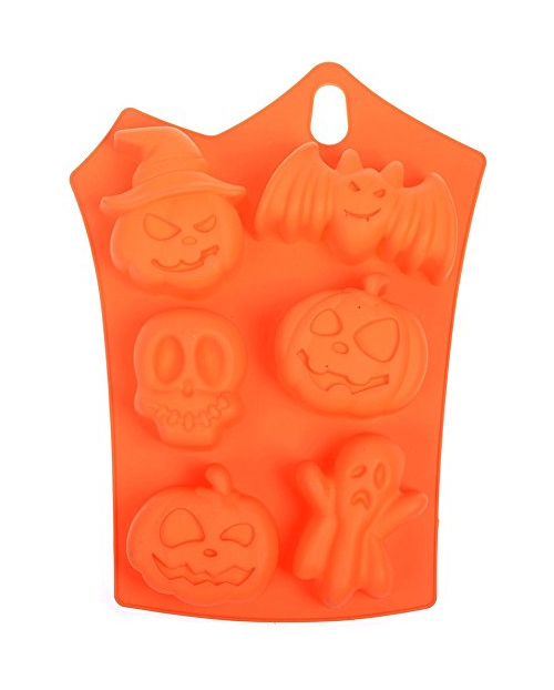 - Assorted Halloween Silicone Mold