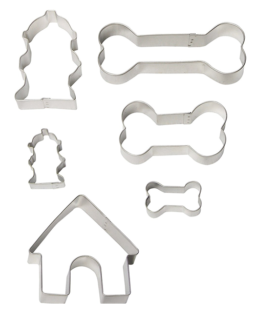- Assorted Dog Cookie Cutters