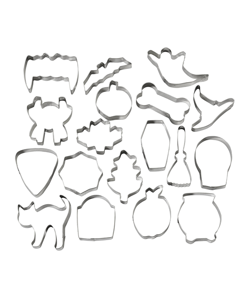 - Assorted Halloween Cookie Cutters