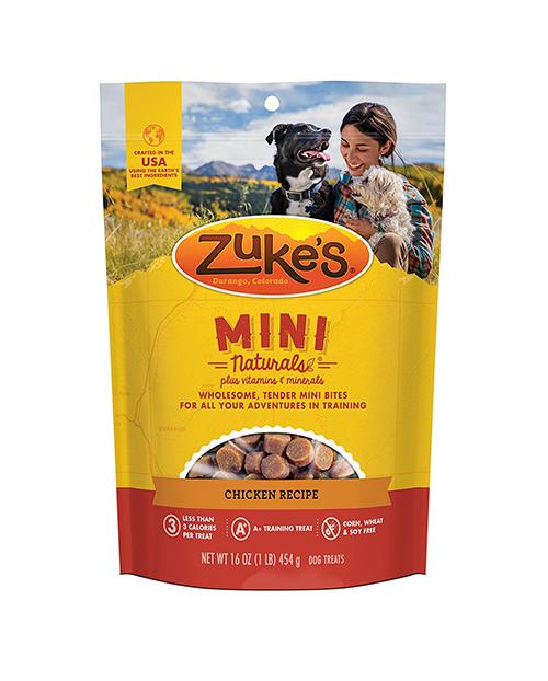 Zuke's Mini Naturals - 2.3 calories / treat