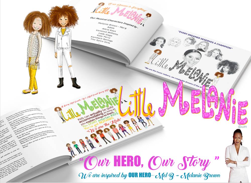 OUR HERO, OUR STORY,.... LITTLE MELANIE