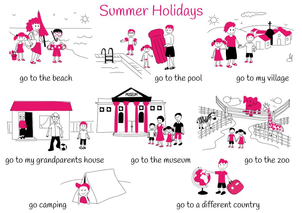 Theme 1: Summer Holidays