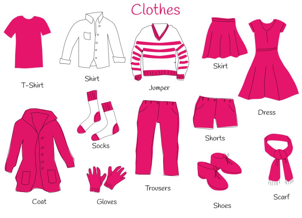Theme 5:   Clothes