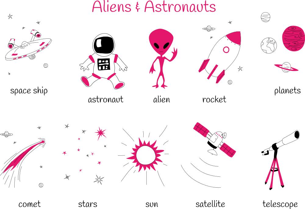 Theme 9: Aliens & Astronauts