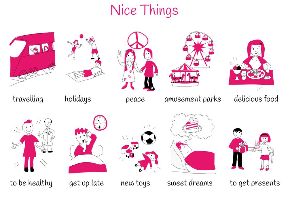 Theme 8: Nice Things
