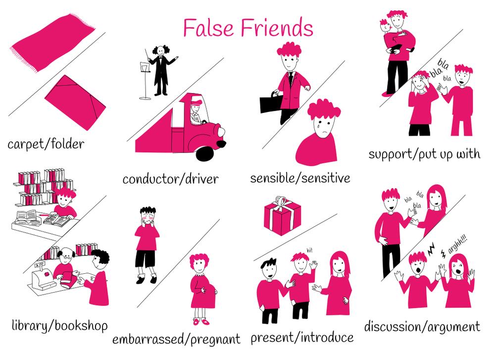 Theme 8: False Friends
