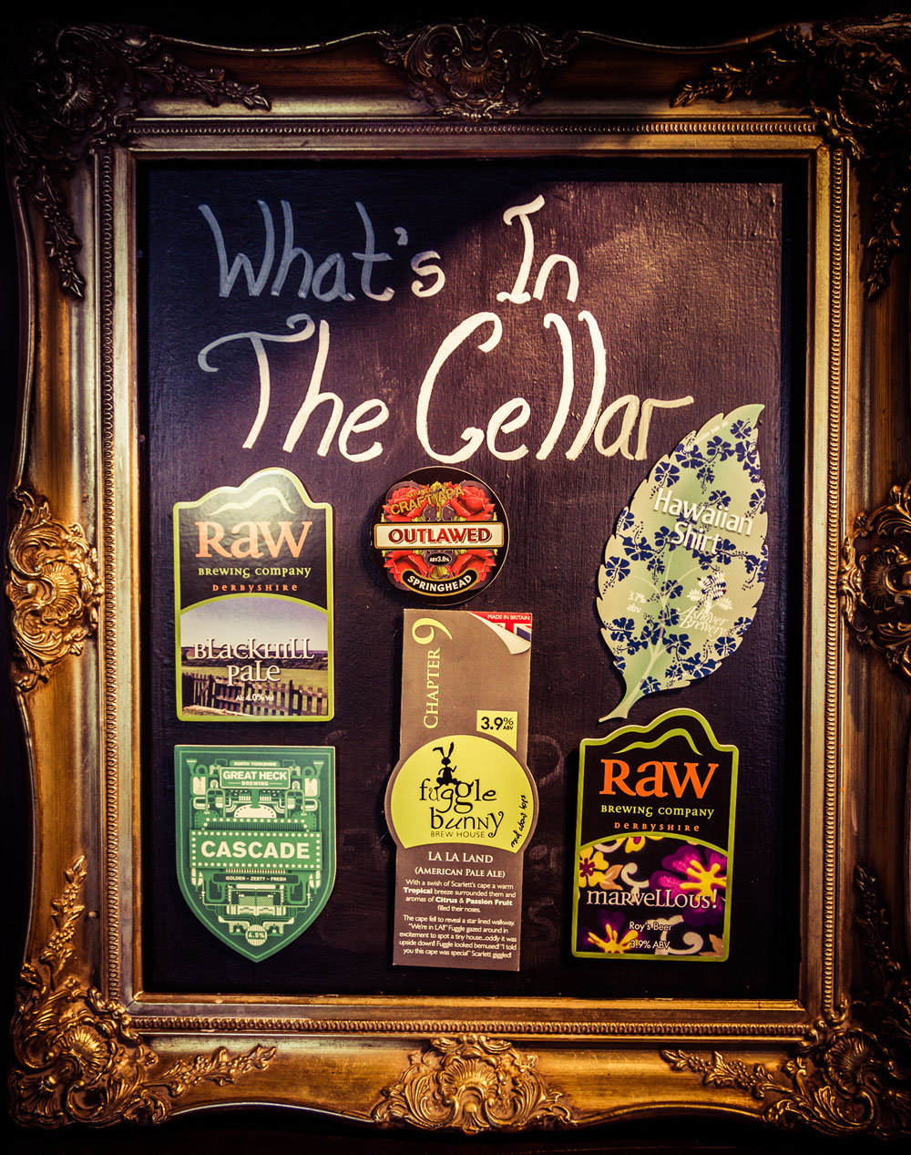 Cask Ales - The Running Pump proudly serves a minimum of 3 guest cask ales. You can expect brews from local brewers such as Bowland & Lytham Brewery along with guest ales from further afield.