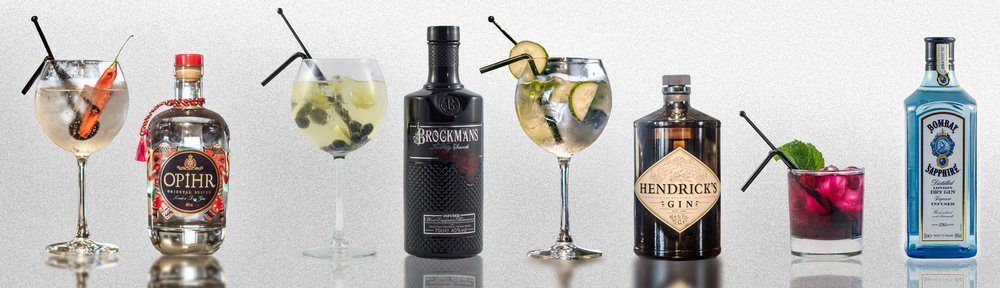 — Gins — - Our bar stocks a great variety of speciality gins, rums, whiskeys and spirits.
