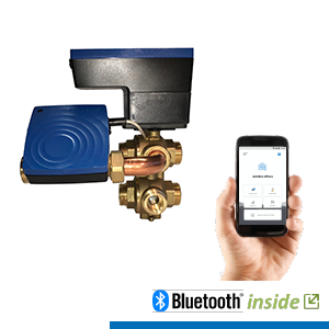 SmartKombi-iQ 6-Wegekugelhahn  Autonomer hydraulischer Abgleich