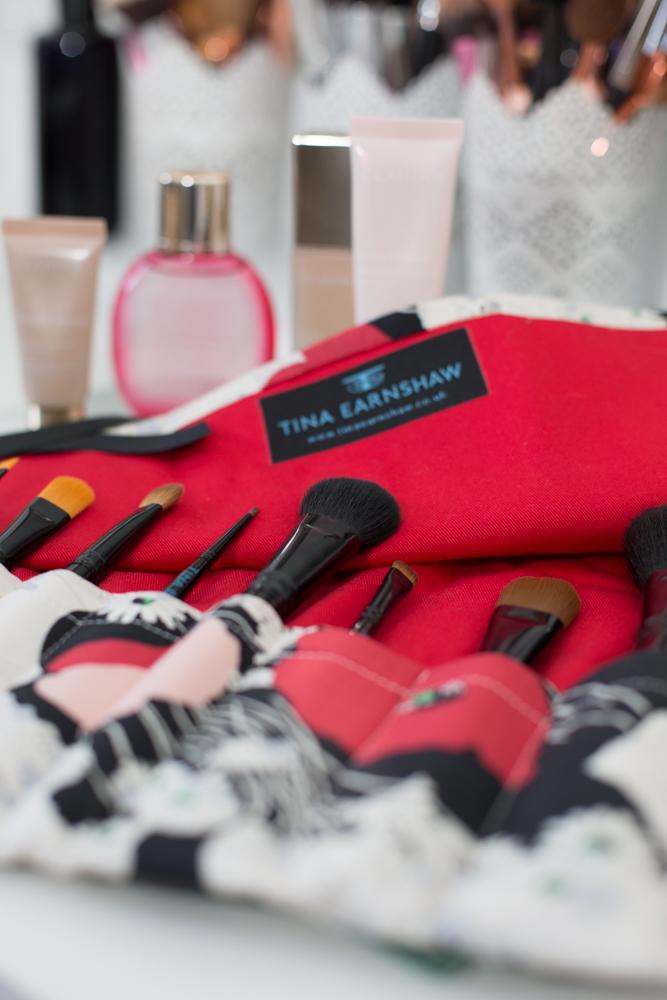 Tina Earnshaw's New Makeup Brush Launch