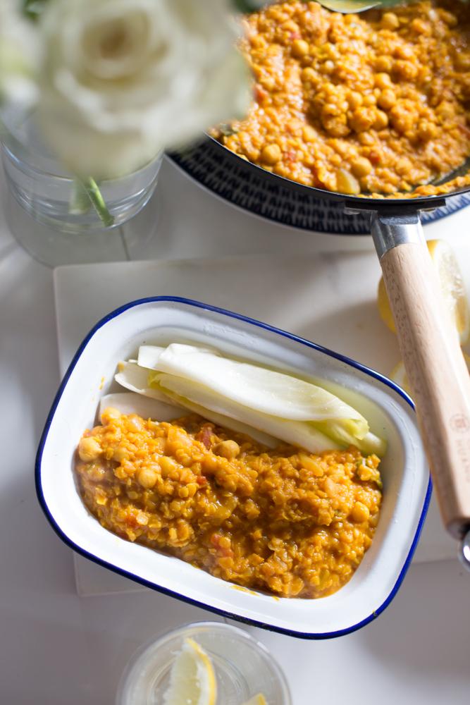 Vegan Turmeric Dal