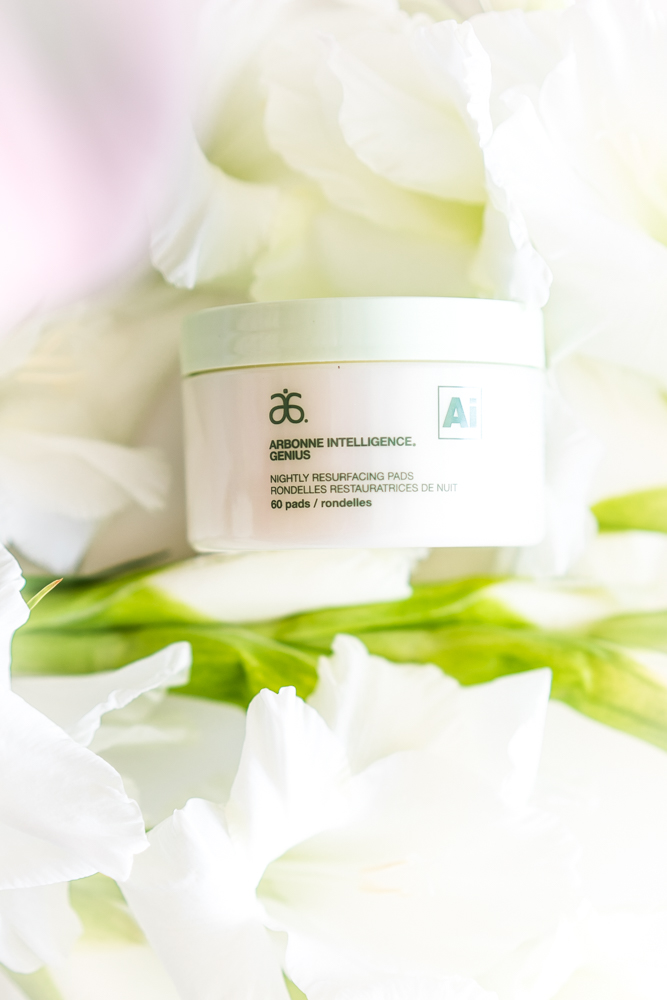 Arbonne Genius Ultra Nightly Resurfacing Pads