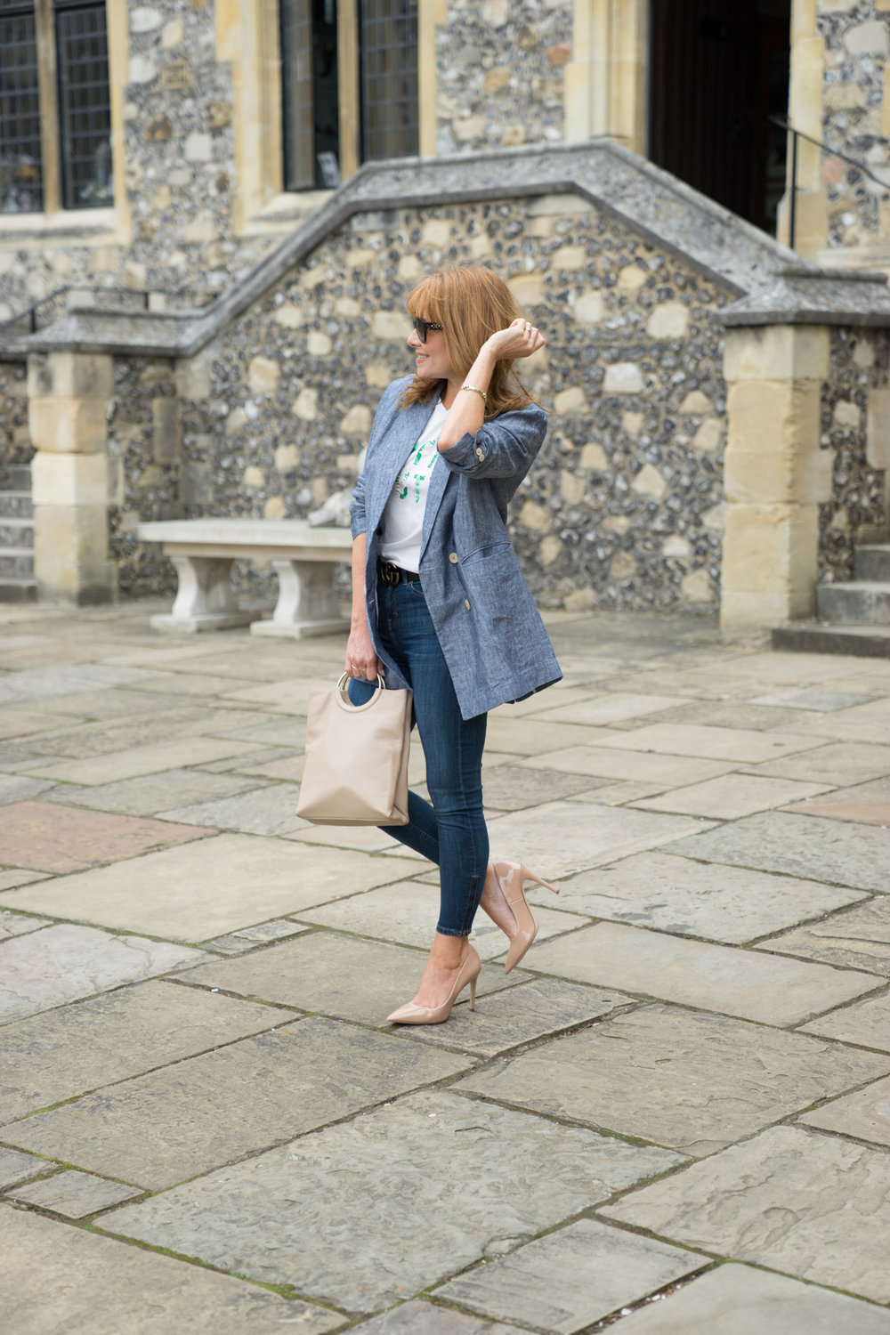 Fashion blogger Sarah Bacchus, Winchester stylist