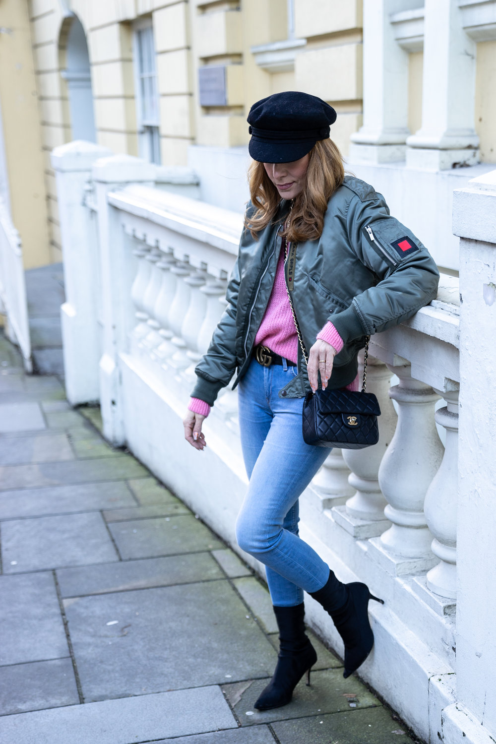 The Style Bible - Grey Days and pink jumpers