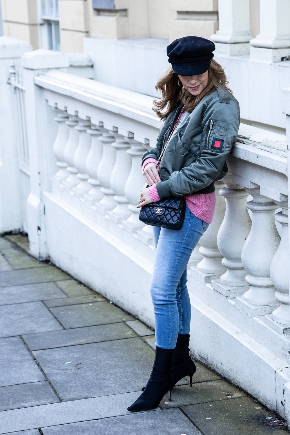 The Style Bible - Grey days & pink jumpers, fashion blogger,