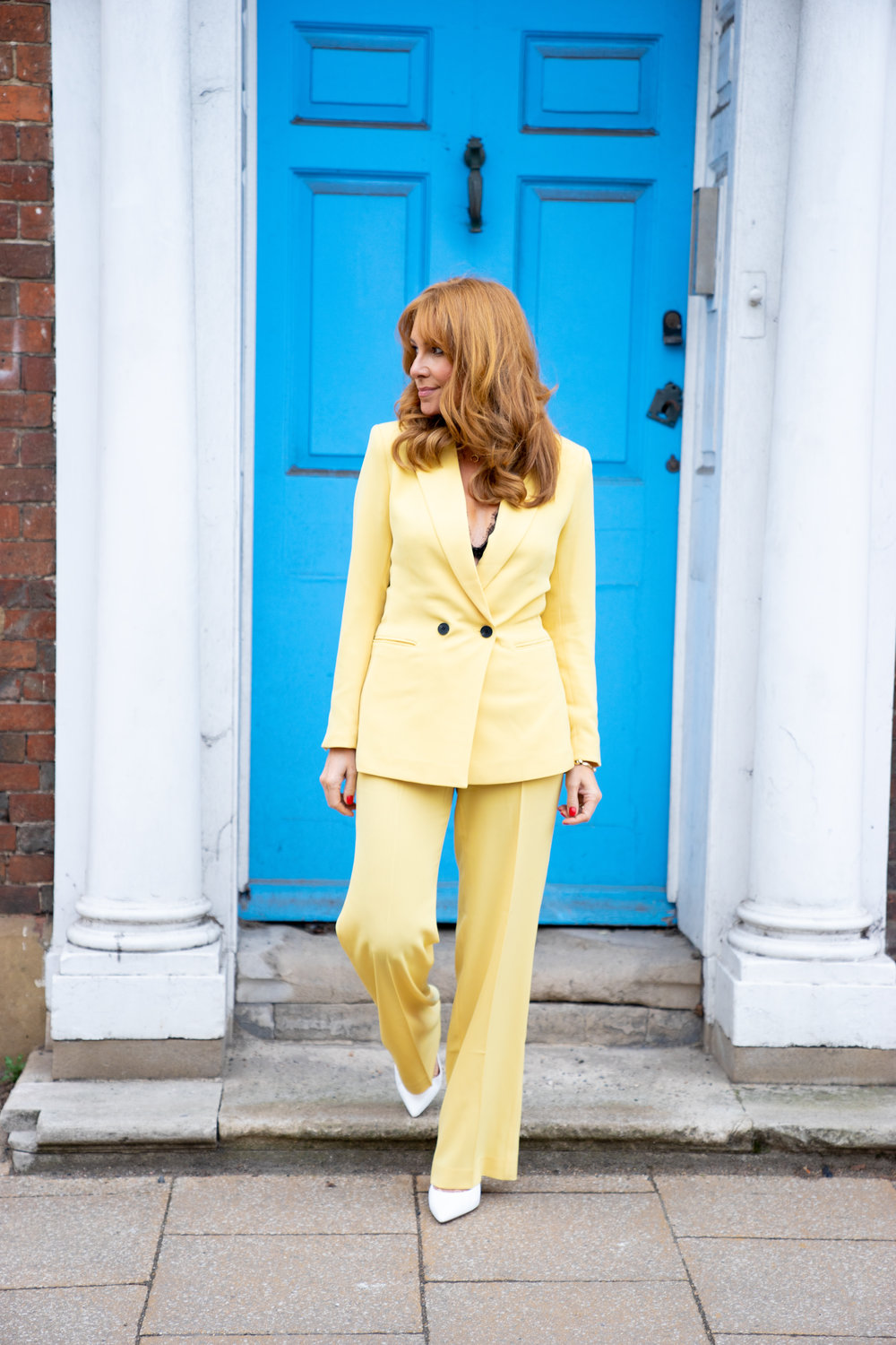 The Style Bible - The Sorbet Suit, Fashion blogger, Gel nails, High heels,