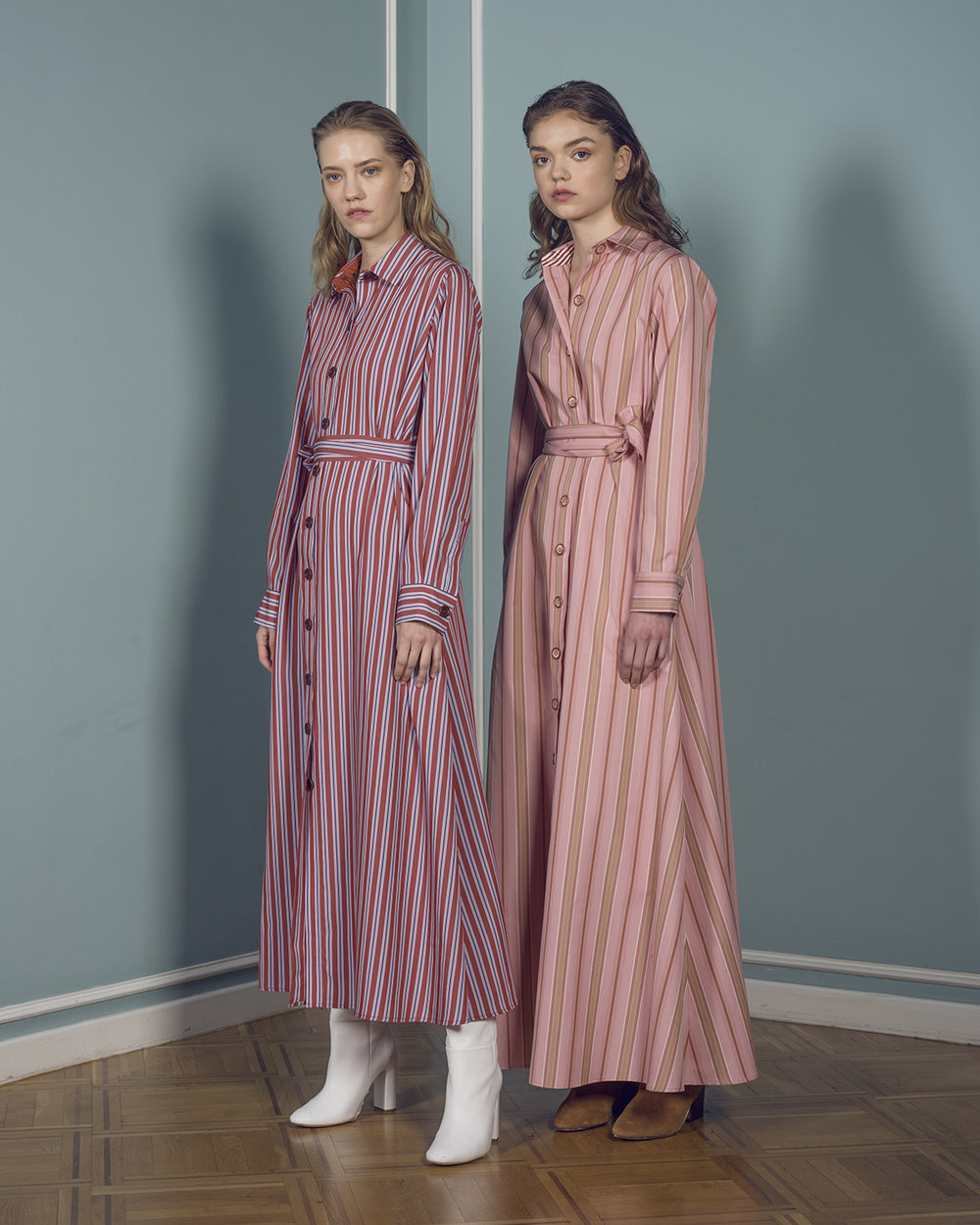 Valerie Midi Stripes  & Valerie Long Stripes -