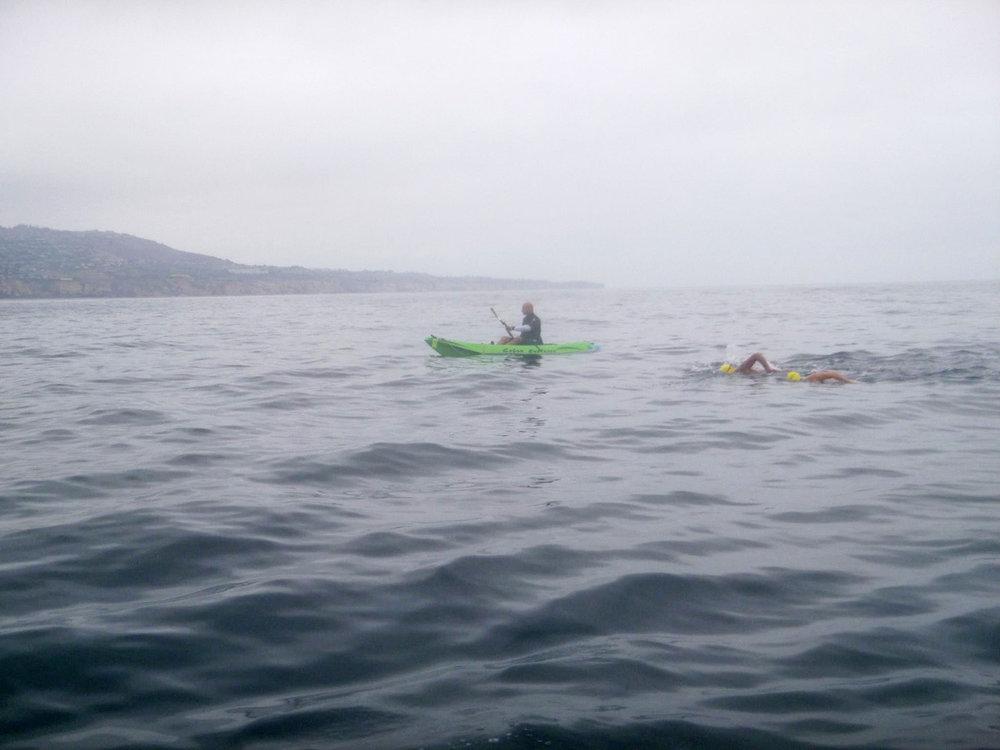 Vlad kayaking for Dean