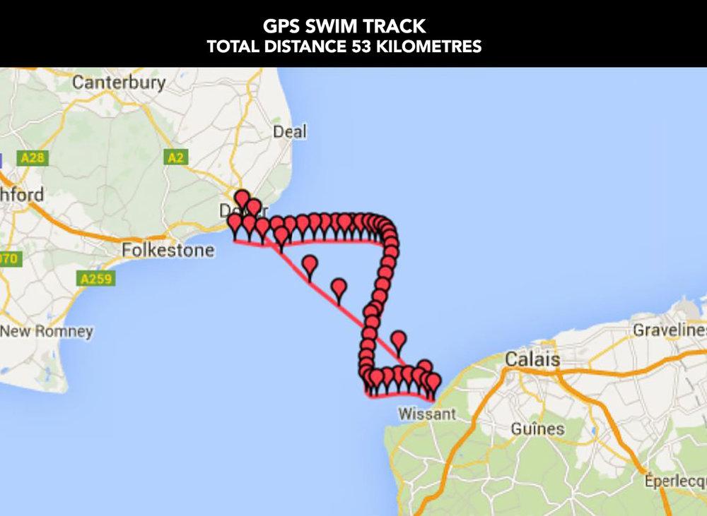 Dean's Swim Track