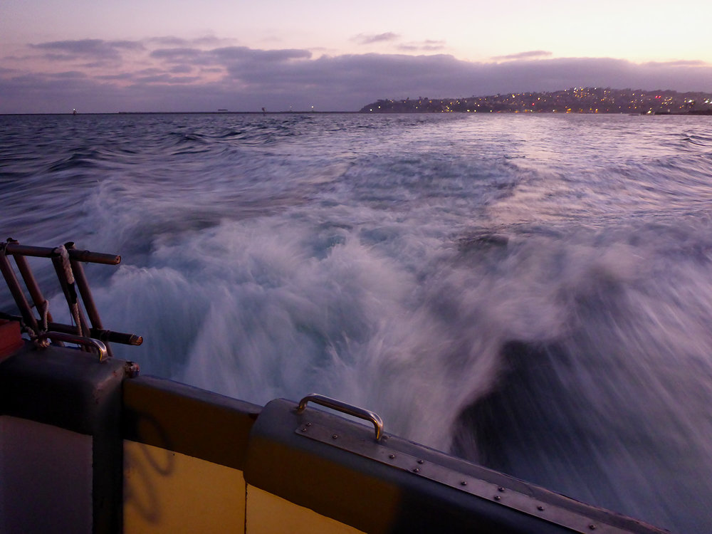 Heading to Catalina Island