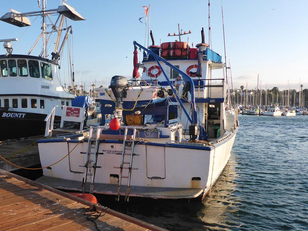 Boat 'Bottom Scratcher'