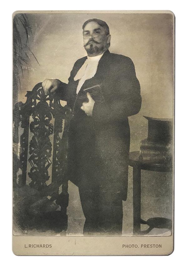 Rev. Jackson Whitehead – circa 1850