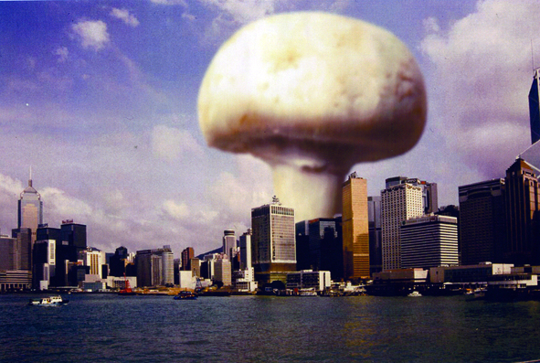 Here was another one from the 2006 series - 'Mushboom'by Chris Challenor  'Ice cream Armageddon' by Mike Rigby to follow when I can get it off my old hard drive!