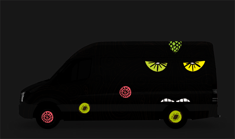 Van Livery - Night