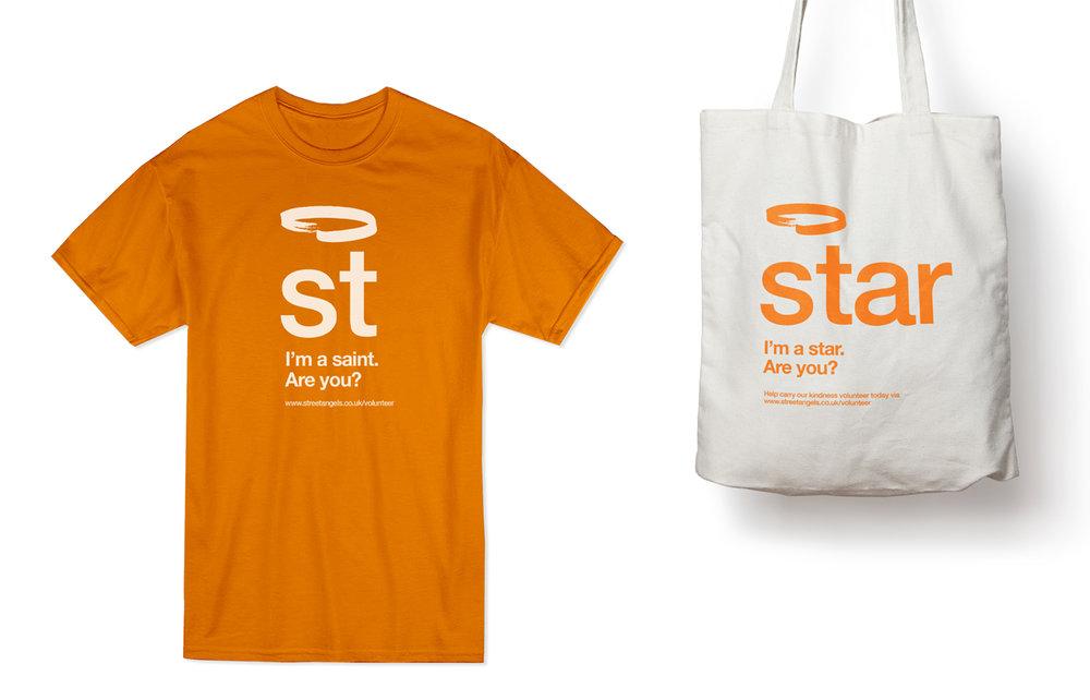 Fund raising merchandising designs