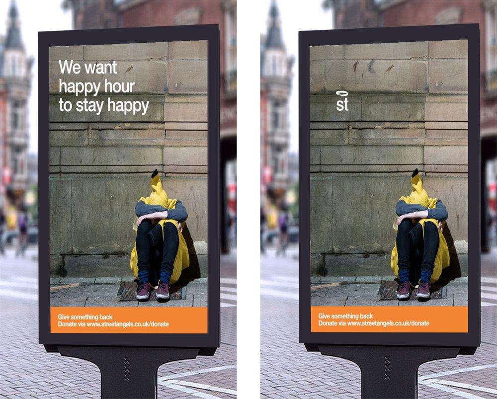 Digital Ad Shell concepts