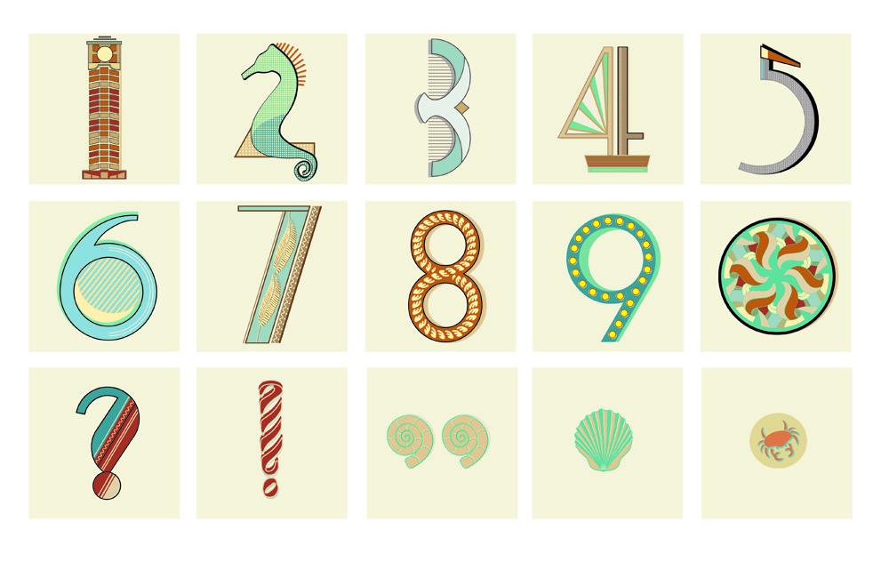 Numerals & Punctuation