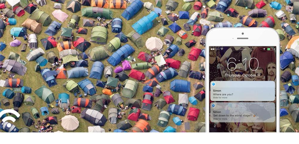 John Lewis festival locator app