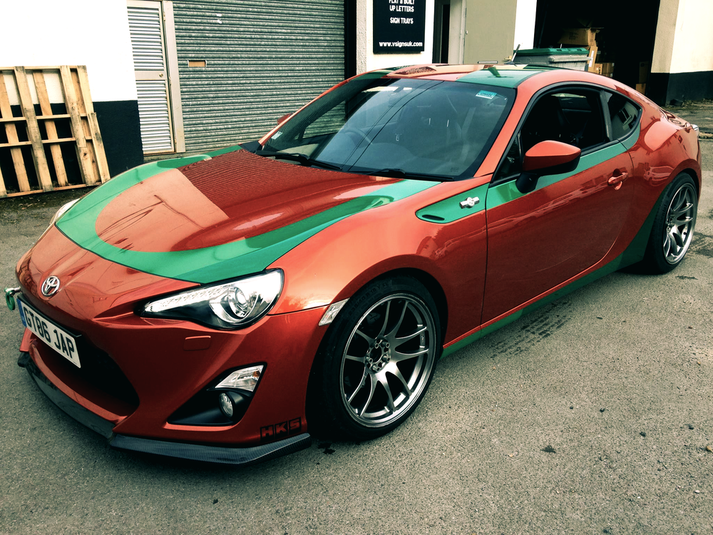 Accents & Stripes - Add a touch of style to your vehicle with partial wraps or cut vinyl stripes.