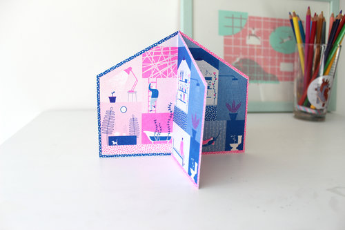 Maggie li house pop up greetings card house pop up greetings card m4hsunfo